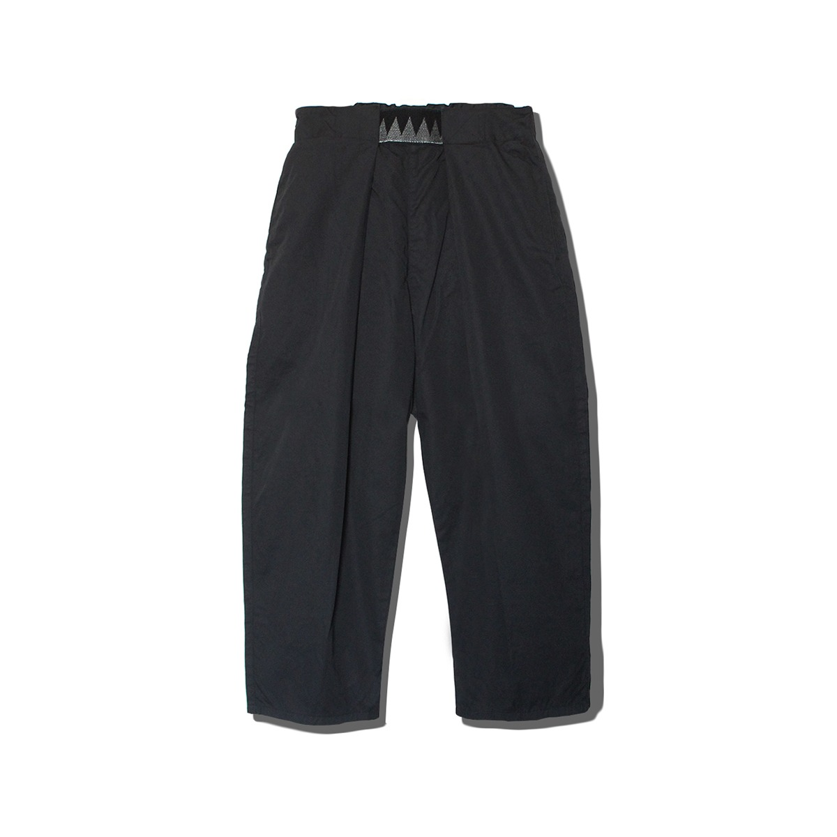 [KAPITAL] COMBED BURBERRY COTTON EASY-BEACH-GO PANTS 'BLACK'