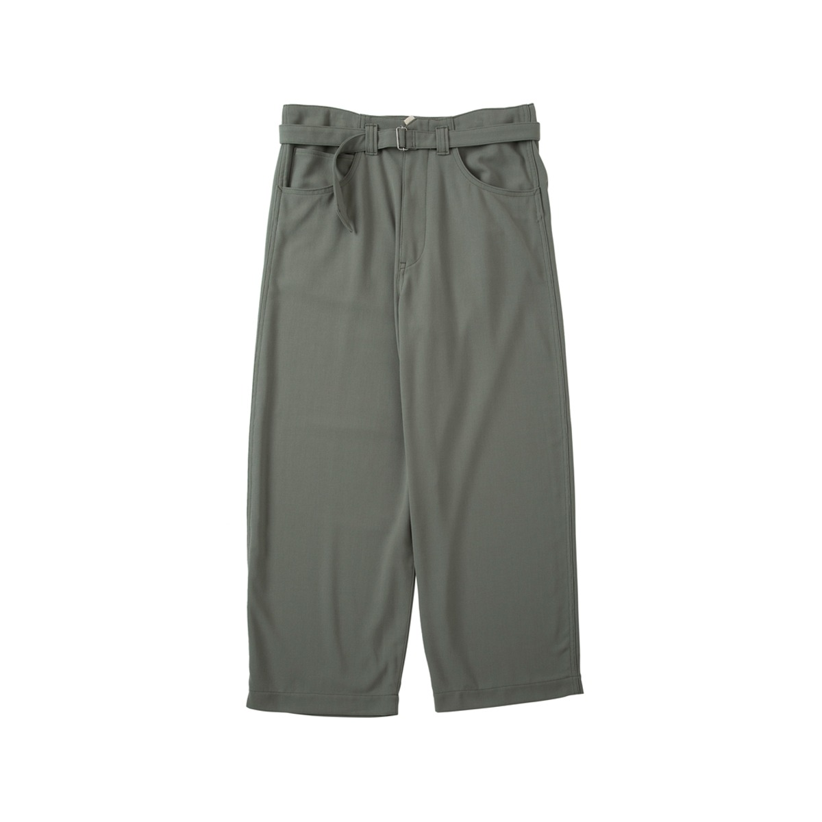 [SABY] SUPER BIG PANTS - 40/4 DRY HEAVY TWILL 'L.KHAKI'