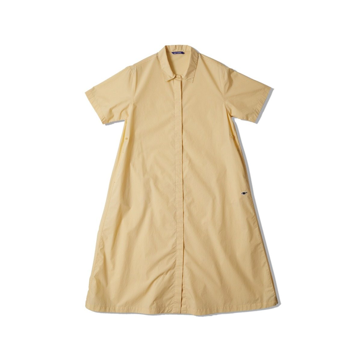 [NEITHERS] COMFORT S/S DRESS 'IVORY'