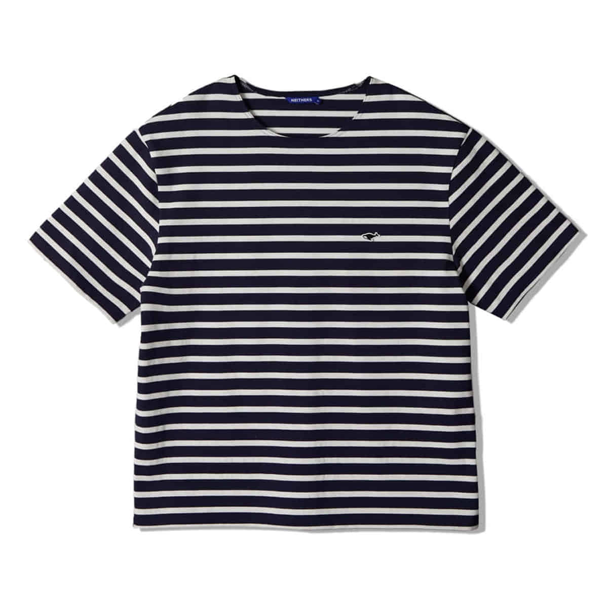 [NEITHERS] STRIPE S/S T-SHIRT 'NAVY'