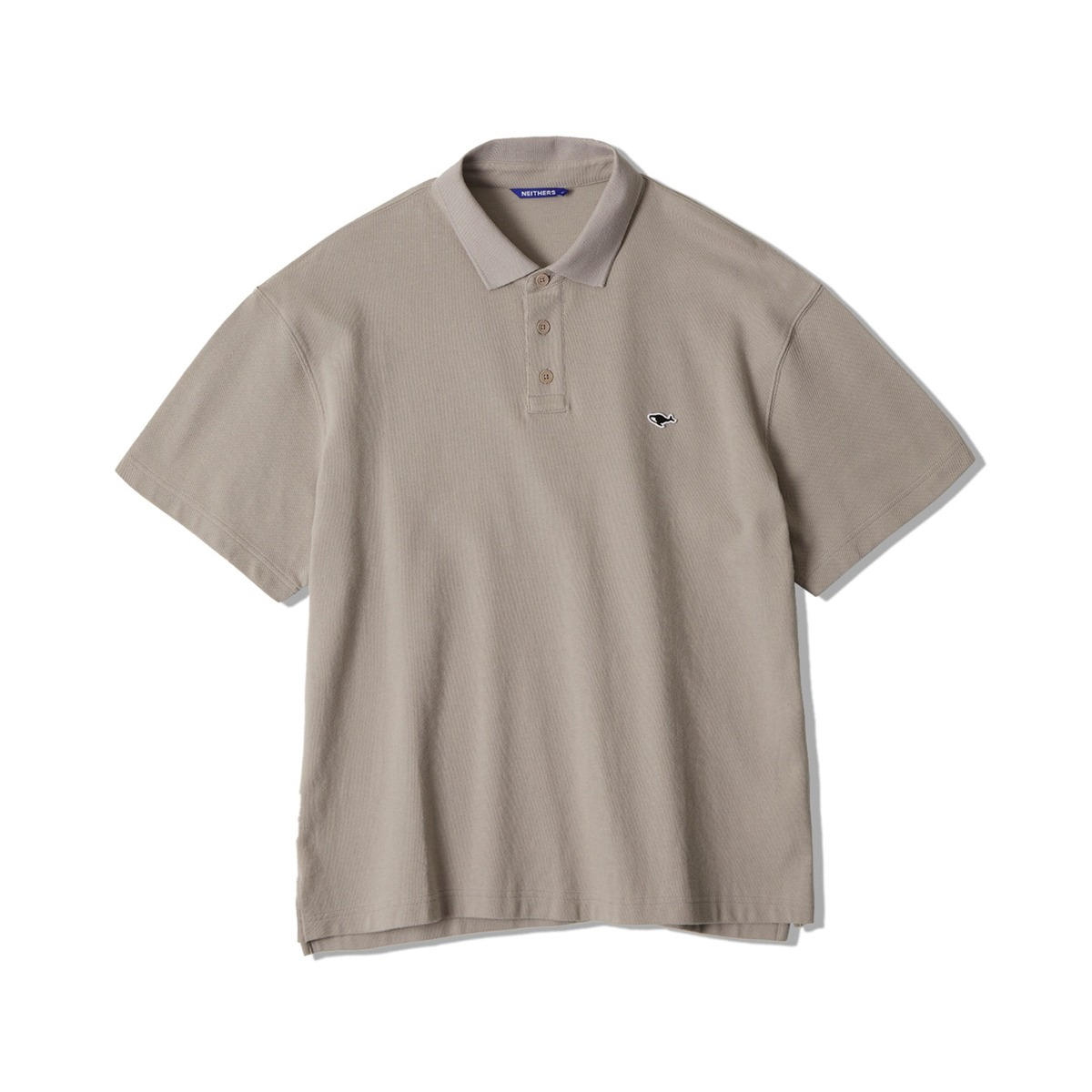 [NEITHERS] S POLO SHIRT 'BEIGE'