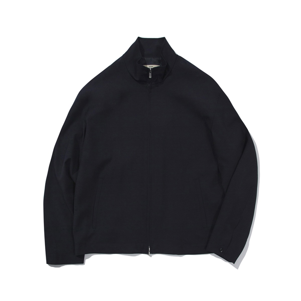 [POTTERY] WOOL TRACK JACKET 'DARK NAVY'