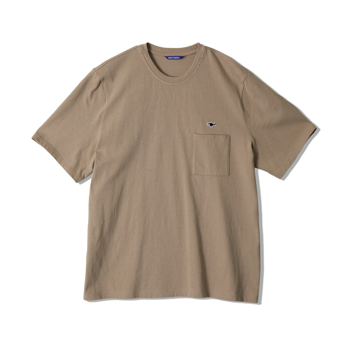 [NEITHERS] 1-POCKET T-SHIRT 'BEIGE'
