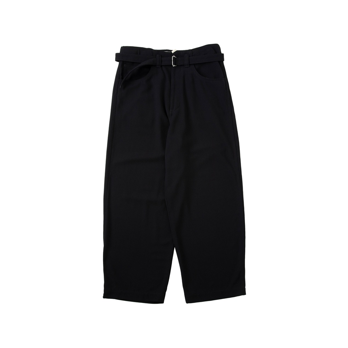[SABY] SUPER BIG PANTS - 40/4 DRY HEAVY TWILL 'BLACK'