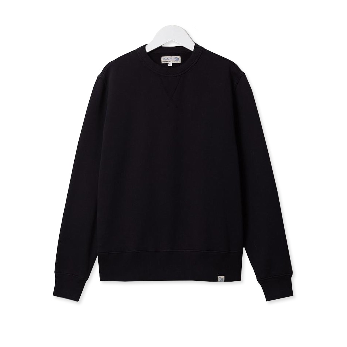 [Merz B. Schwanen] GOOD BASICS MEN'S SWEATSHIRT 'CHARCOAL'