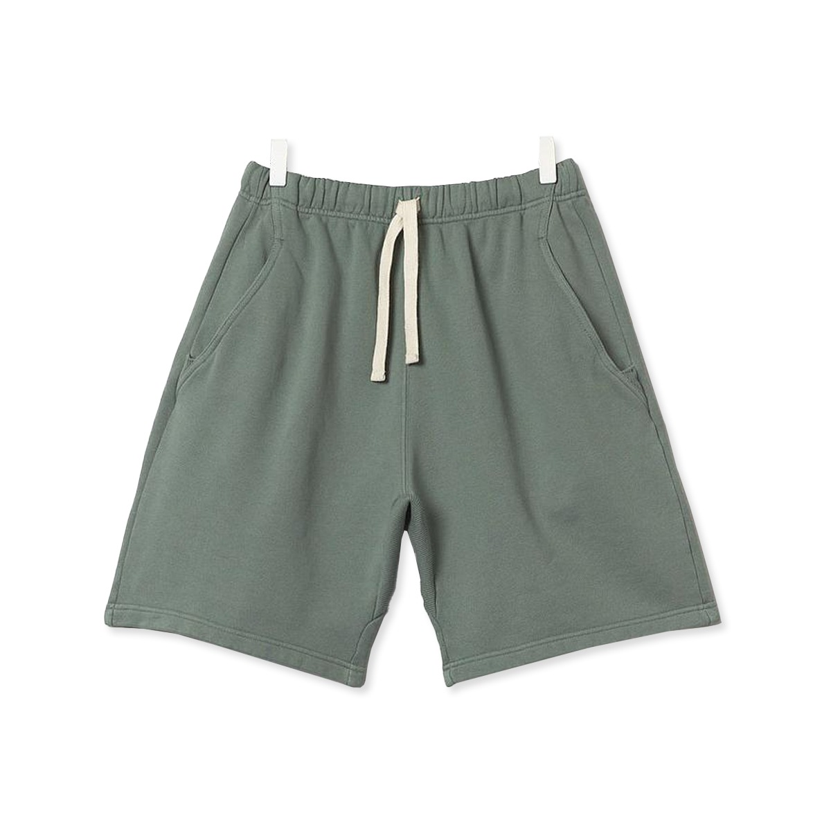 [Merz B. Schwanen] GOOD BASICS MEN'S SWEAT SHORTS 'LIGHT ARMY'
