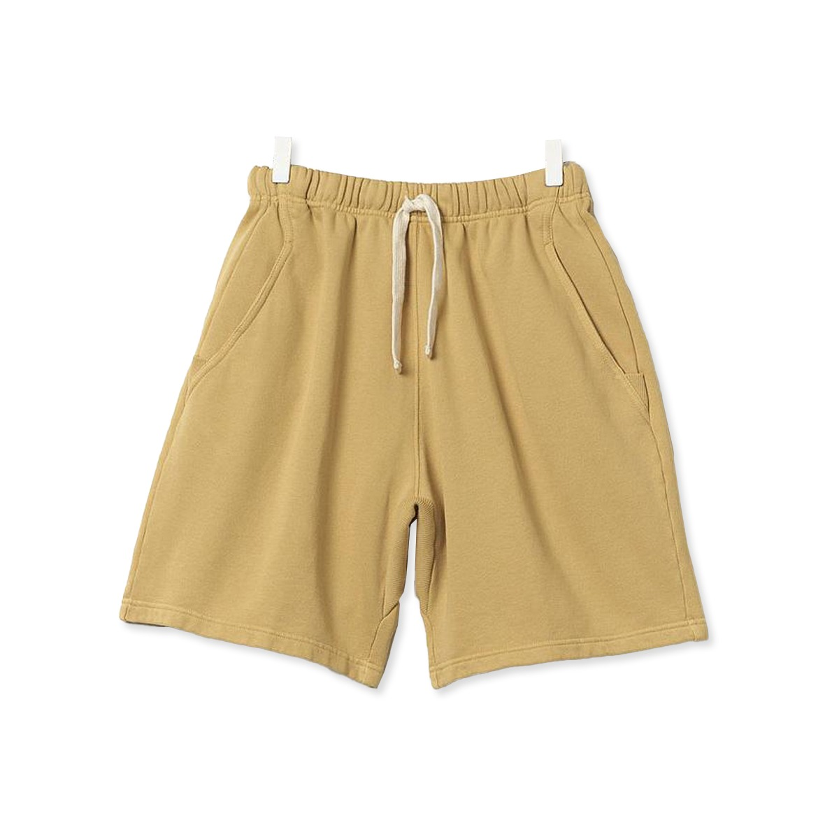 [Merz B. Schwanen] GOOD BASICS MEN'S SWEAT SHORTS 'CORN'