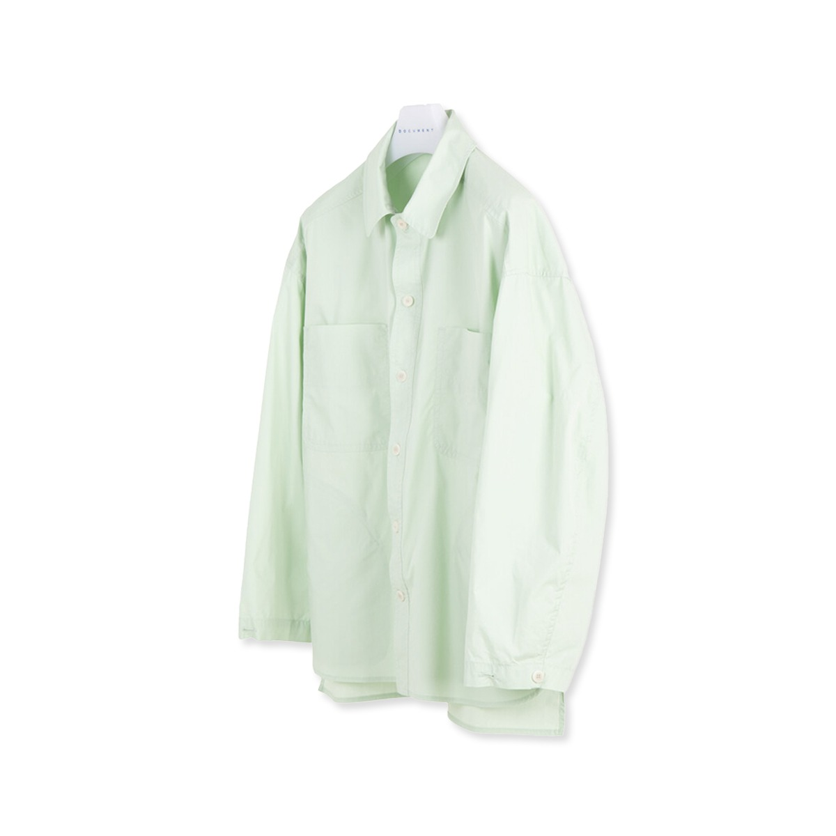 [DOCUMENT] SHIRTING JACKET 'GREEN'