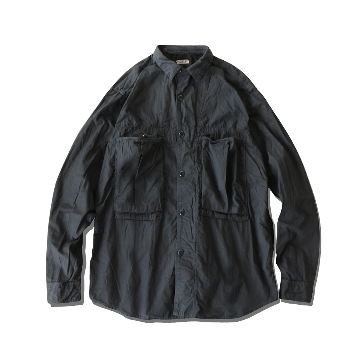 [KAPITAL] BROAD CLOTH ANORAK SHIRT 'BLACK'