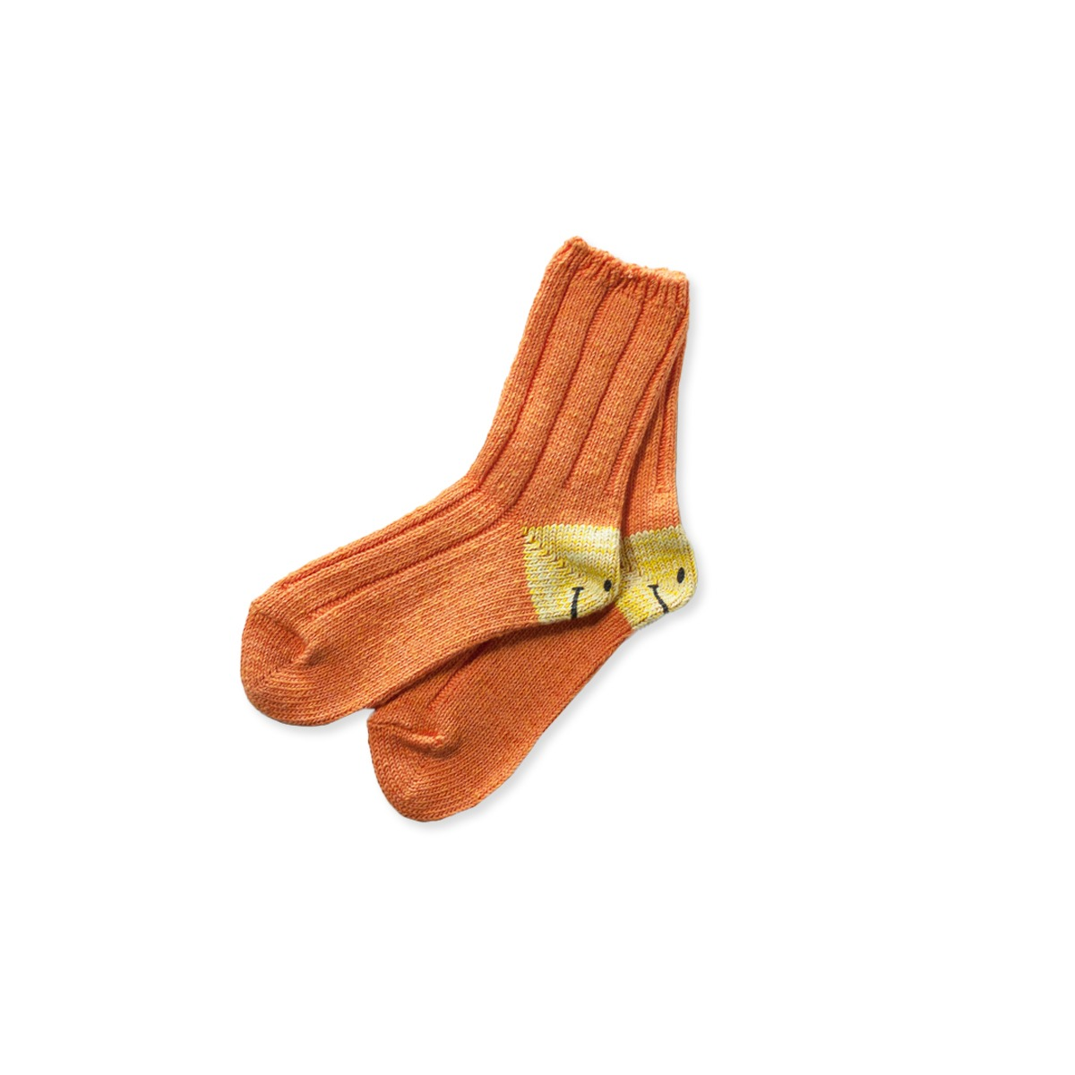 [KAPITAL] 56 YARNS SMILE SOCKS 'ORANGE'