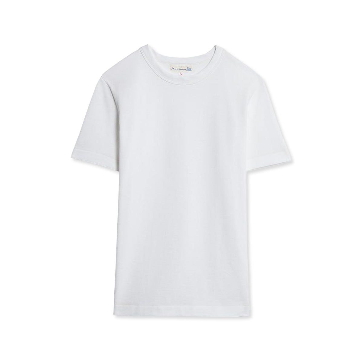 [Merz B. Schwanen] GOOD ORIGINALS MEN'S CREW NECK T-SHIRT 'WHITE'